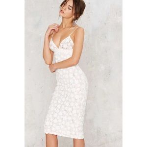 NEW WFFS Grow it Alone Midi Dress